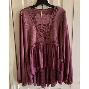 NEW WITHOUT TAGS💗Free People Blouse